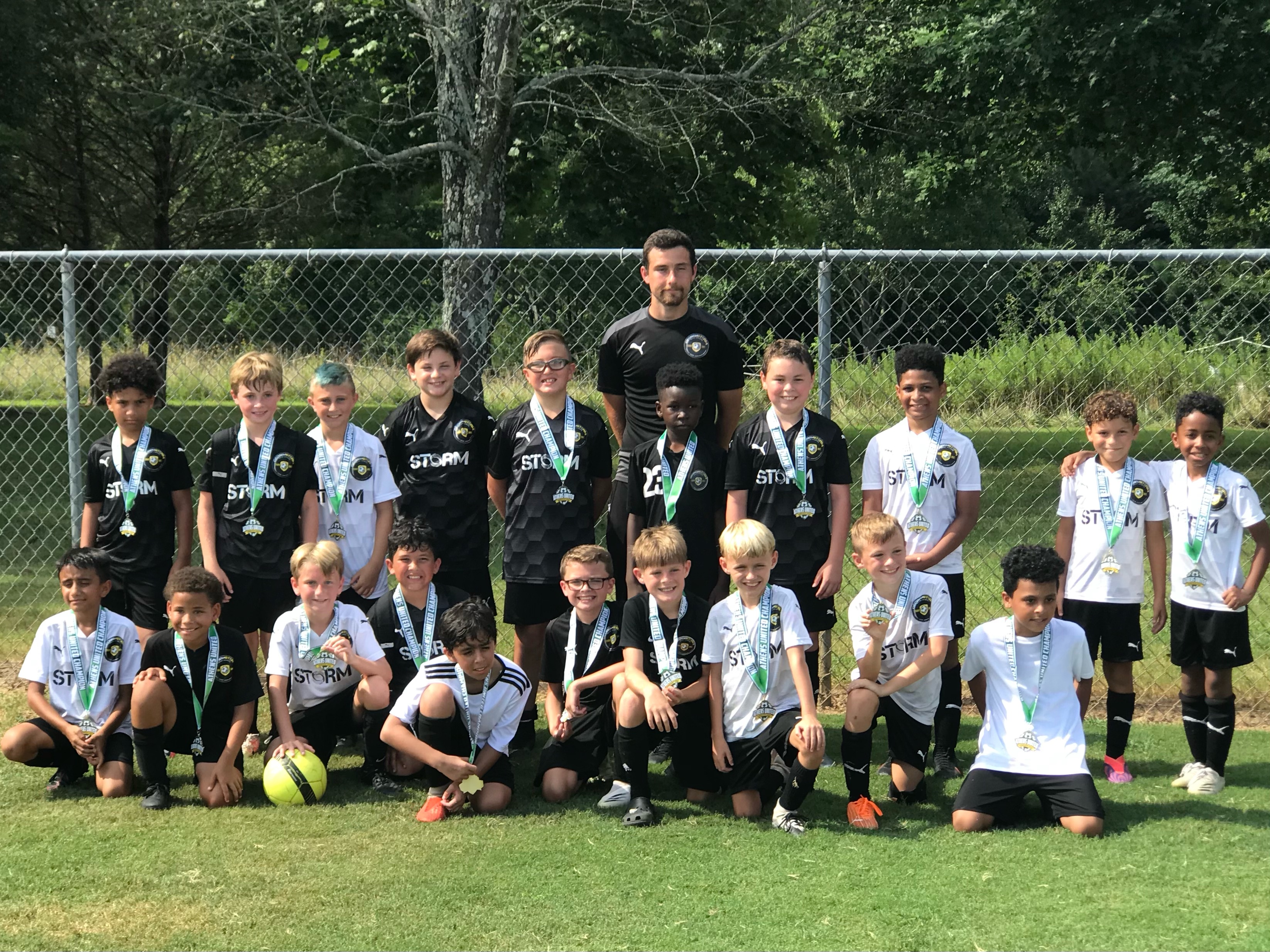 11B Academy Teams Play One Another in Athens Invitational Final